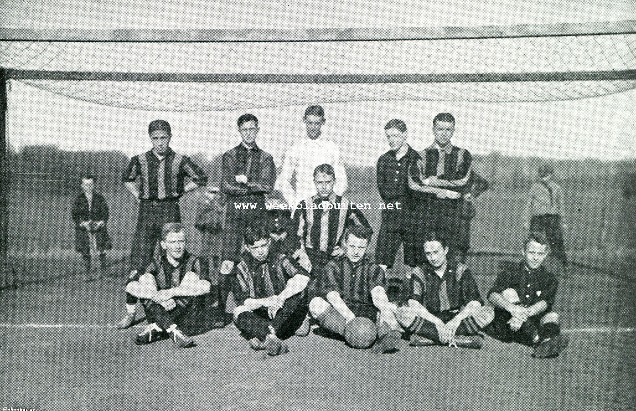 H.V.V. DEN HAAG, KAMPIOEN VAN NEDERLAND 1906-'07