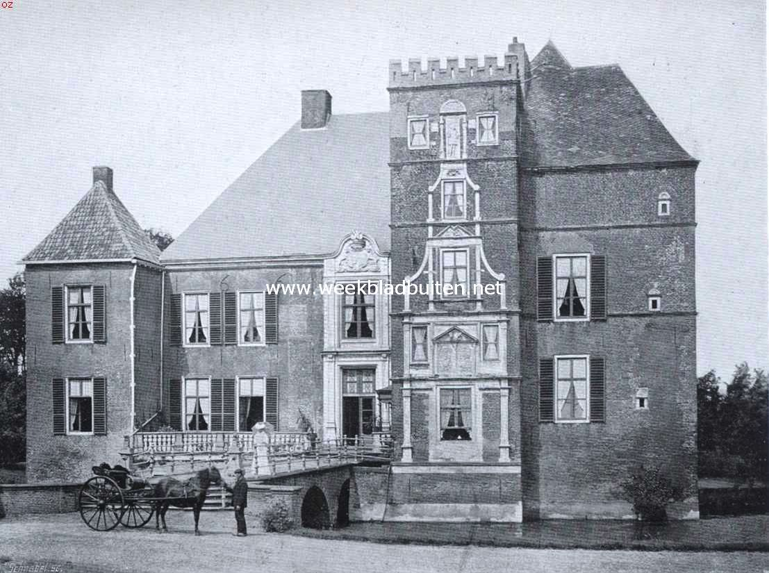 De Cannenburch. Zuidzijde