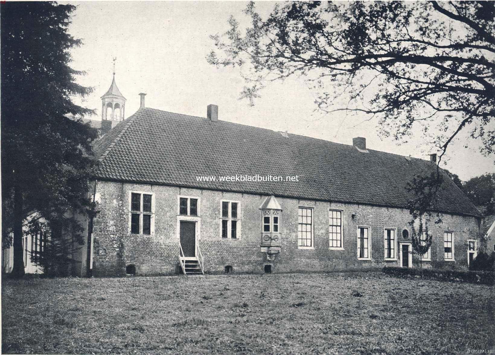 Het oude klooster te Ter Apel. (Noordzijde)