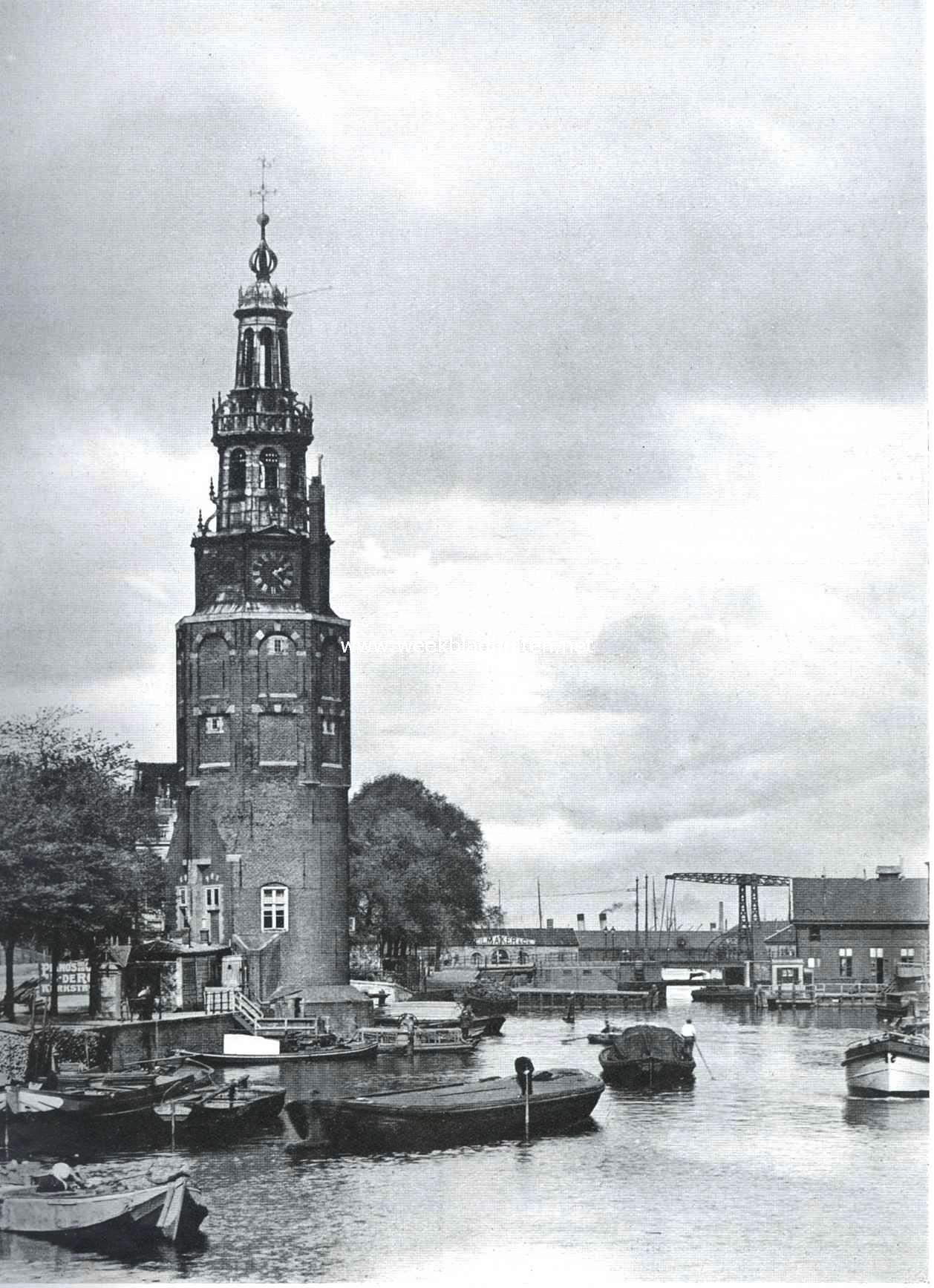De Montelbaanstoren te Amsterdam