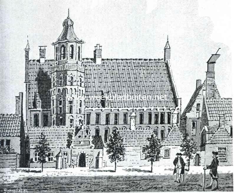 Sloopend herboren-Nederland. Het provinciehuis te Groningen voor zijn verbouwing