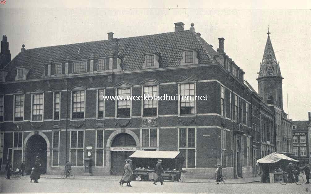 Het voormalige Groot-Boterhuis te 's-Gravenhage