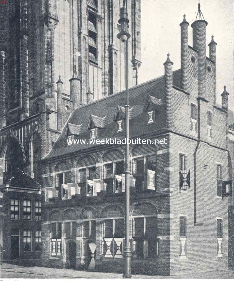 Het Oude Rechthuis of de Hoofdwacht te Groningen