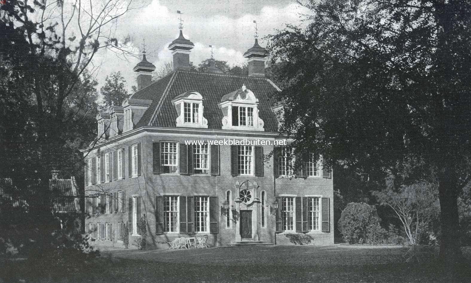 Huize Doornburgh bij Maarssen. Front