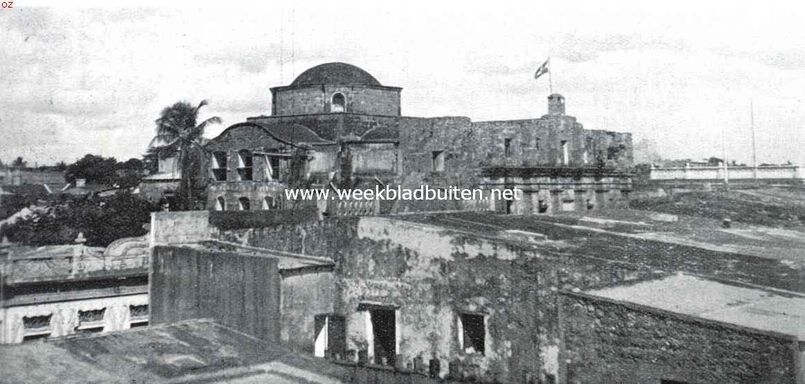 Het voormalige Jezuietenklooster te Santo Domingo